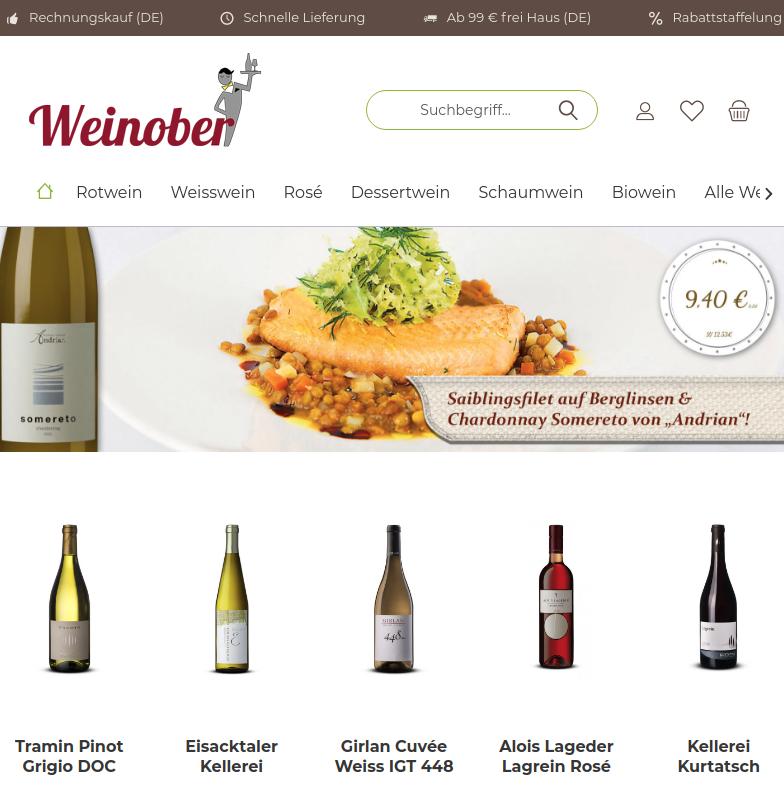 Wein aus Südtirol & Italien im Shop von Weinober.de